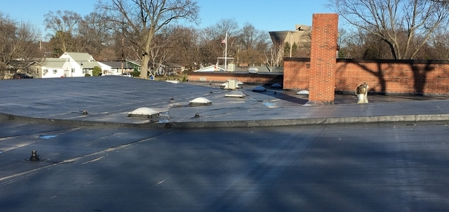 Lincoln Park Elementary - Roof - After Construction